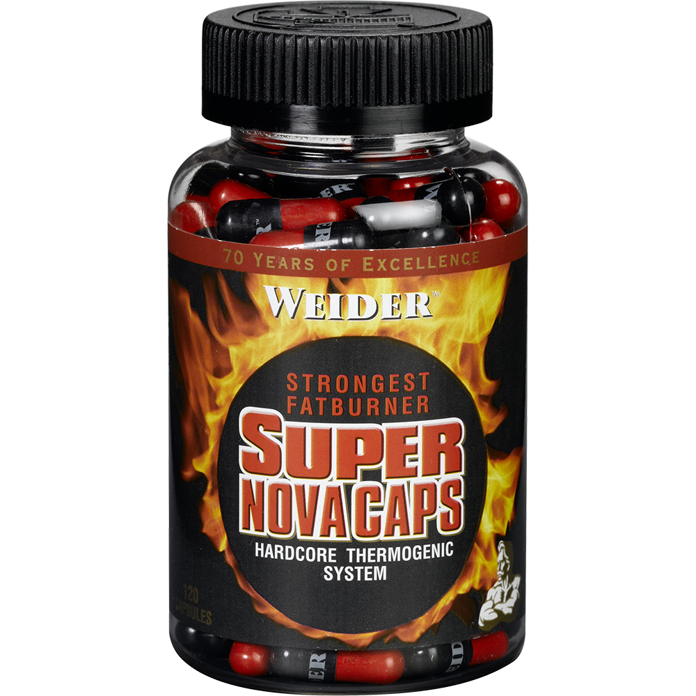 Weider Nutrition Super Nova Caps 120 caps