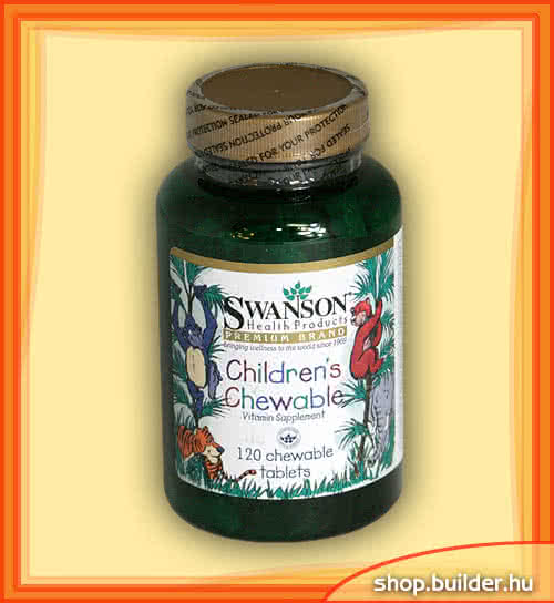 Swanson Childrens Chewable 120 chews