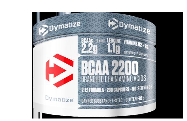 Dymatize BCAA 2:1:1 200 caps