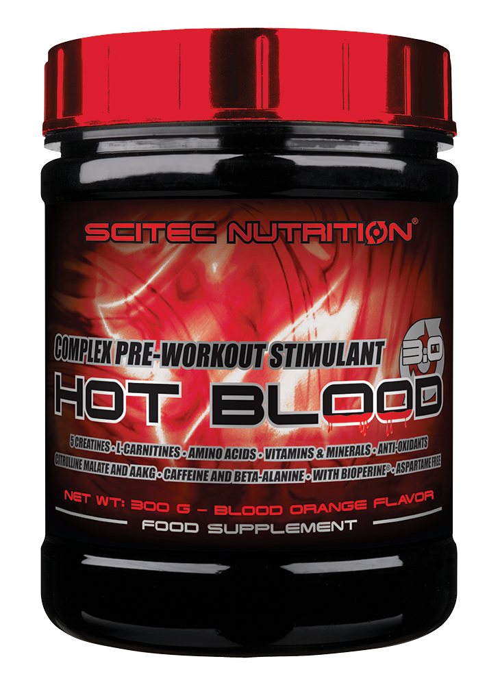 Scitec Nutrition Hot Blood 3.0 300 gr.