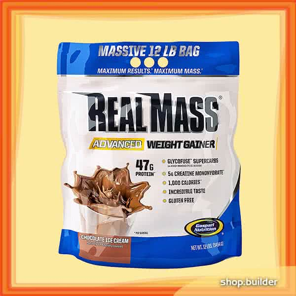 Gaspari Nutrition Real Mass Advanced 5,454 kg