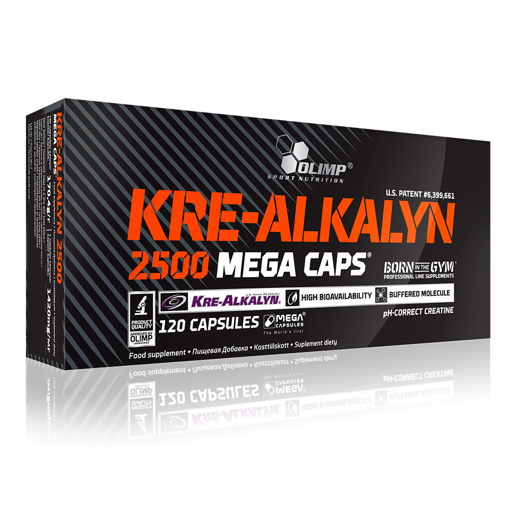 Olimp Sport Nutrition Kre-Alkalyn® 2500 Mega Caps 120 caps