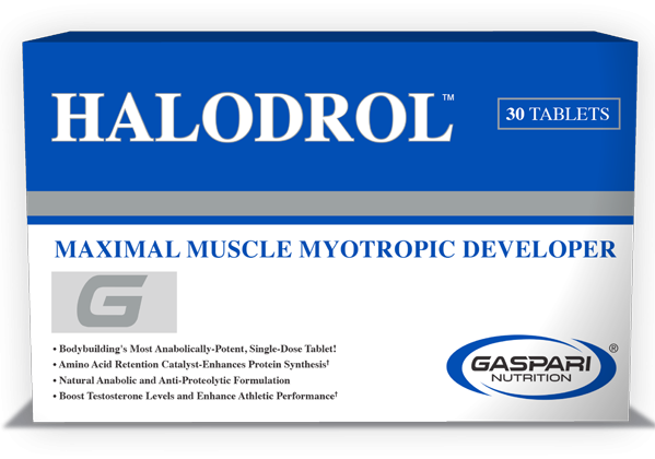 Gaspari Nutrition Halodrol 30 tab.