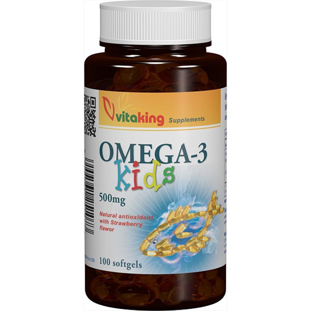 VitaKing Omega-3 Kids 100 g.c.