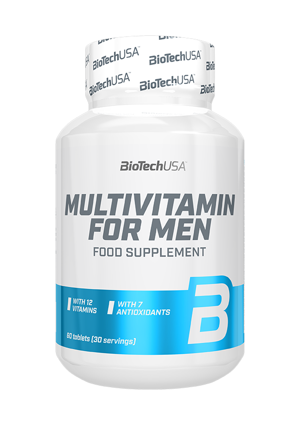 BioTech USA Multivitamin for Men 60 tab.
