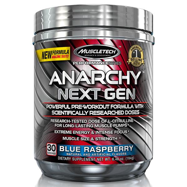 MuscleTech Anarchy Next Gen 185 gr.