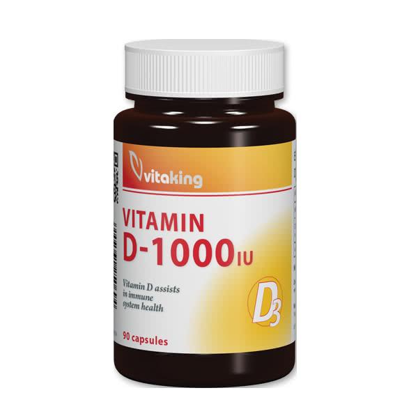 VitaKing Vitamin D-1000 90 caps