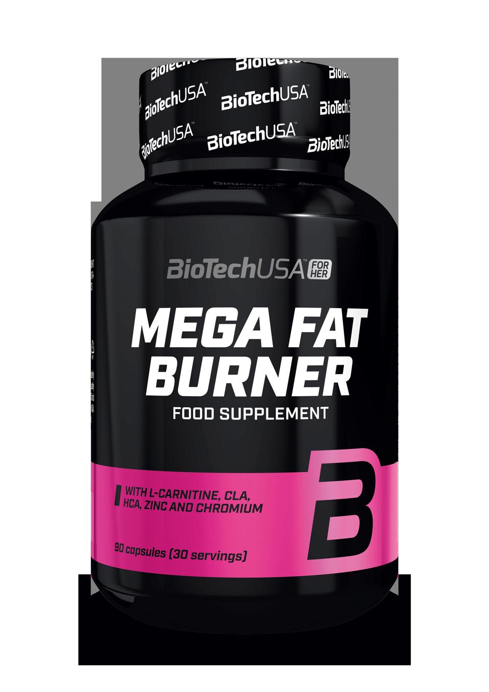 BioTech USA Mega Fat Burner 90 tab.