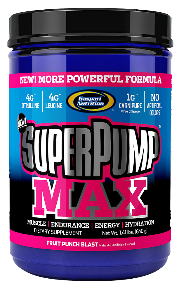 Gaspari Nutrition SuperPump MAX 640 gr.