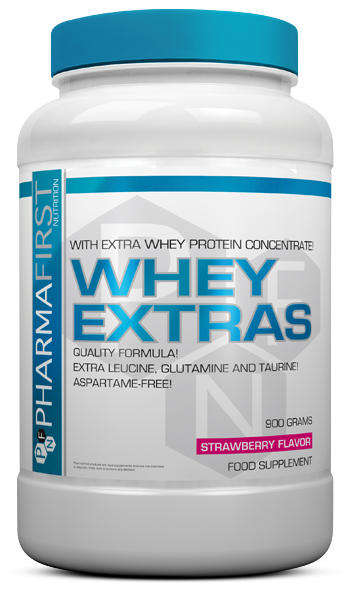 Pharma First Whey Extras 0,9 kg
