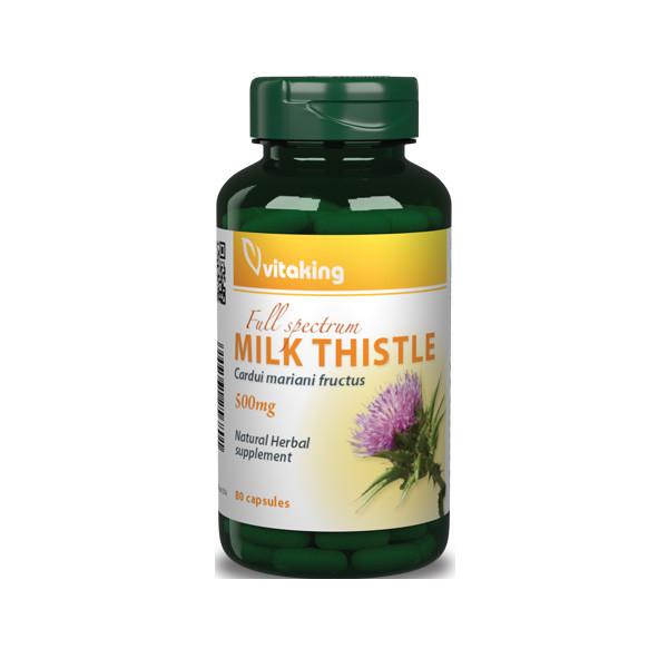 VitaKing Milk Thistle 80 caps