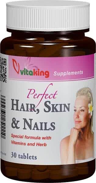 VitaKing Hair, Skin & Nails 30 tab.