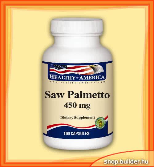 Healthy America Saw Palmetto 100 caps