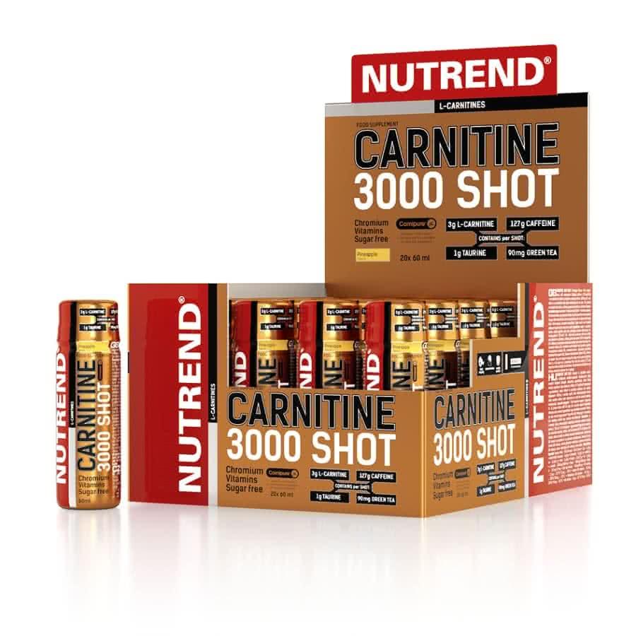 Nutrend Carnitine Shot 3000 20x60 ml