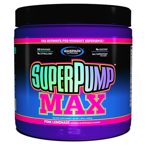 Gaspari Nutrition SuperPump MAX 480 gr.