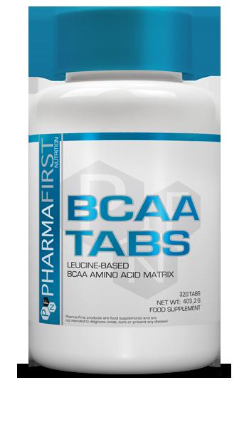 Pharma First BCAA Tabs 320 tab.