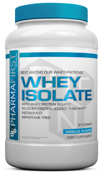 Pharma First Whey Isolate 1,82 kg