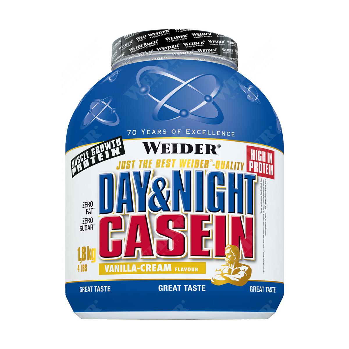 Weider Nutrition Day & Night Casein 1,8 kg