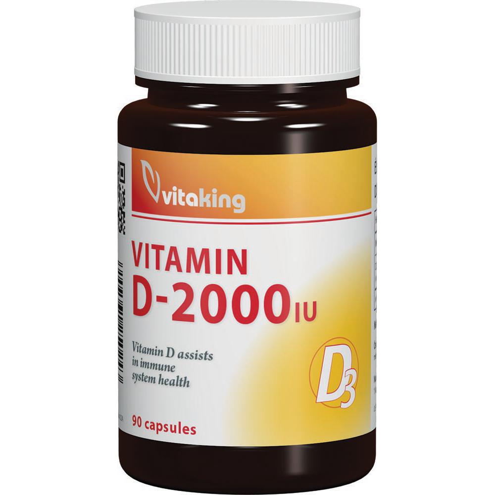 VitaKing Vitamin D-2000 90 caps