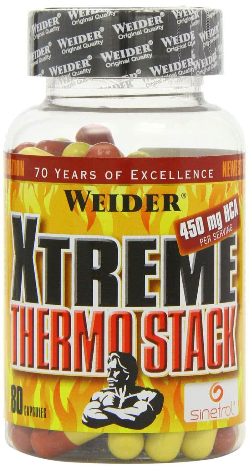 Weider Nutrition Xtreme Thermo Stack 80 caps