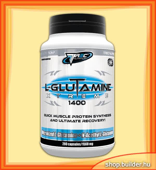 Trec Nutrition L-Glutamine Xtreme 1400 200 caps