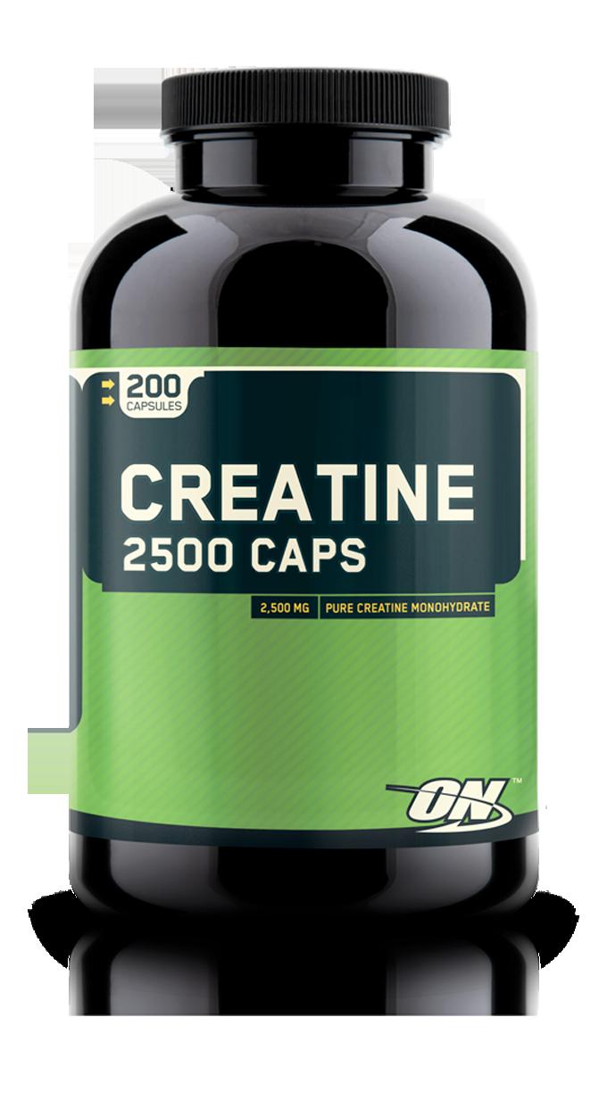 Optimum Nutrition Creatine 2500 Caps 200 caps