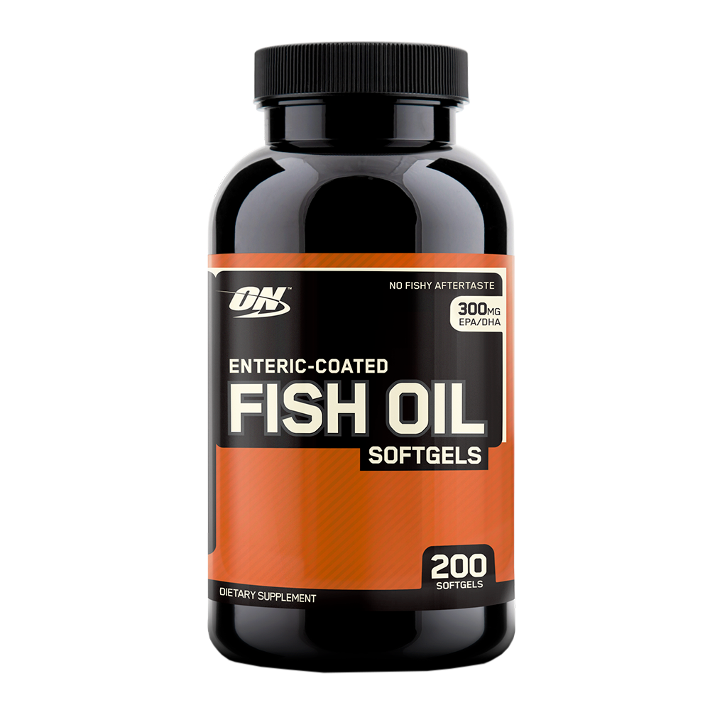 Optimum Nutrition Enteric Coated Fish Oil 200 g.c.