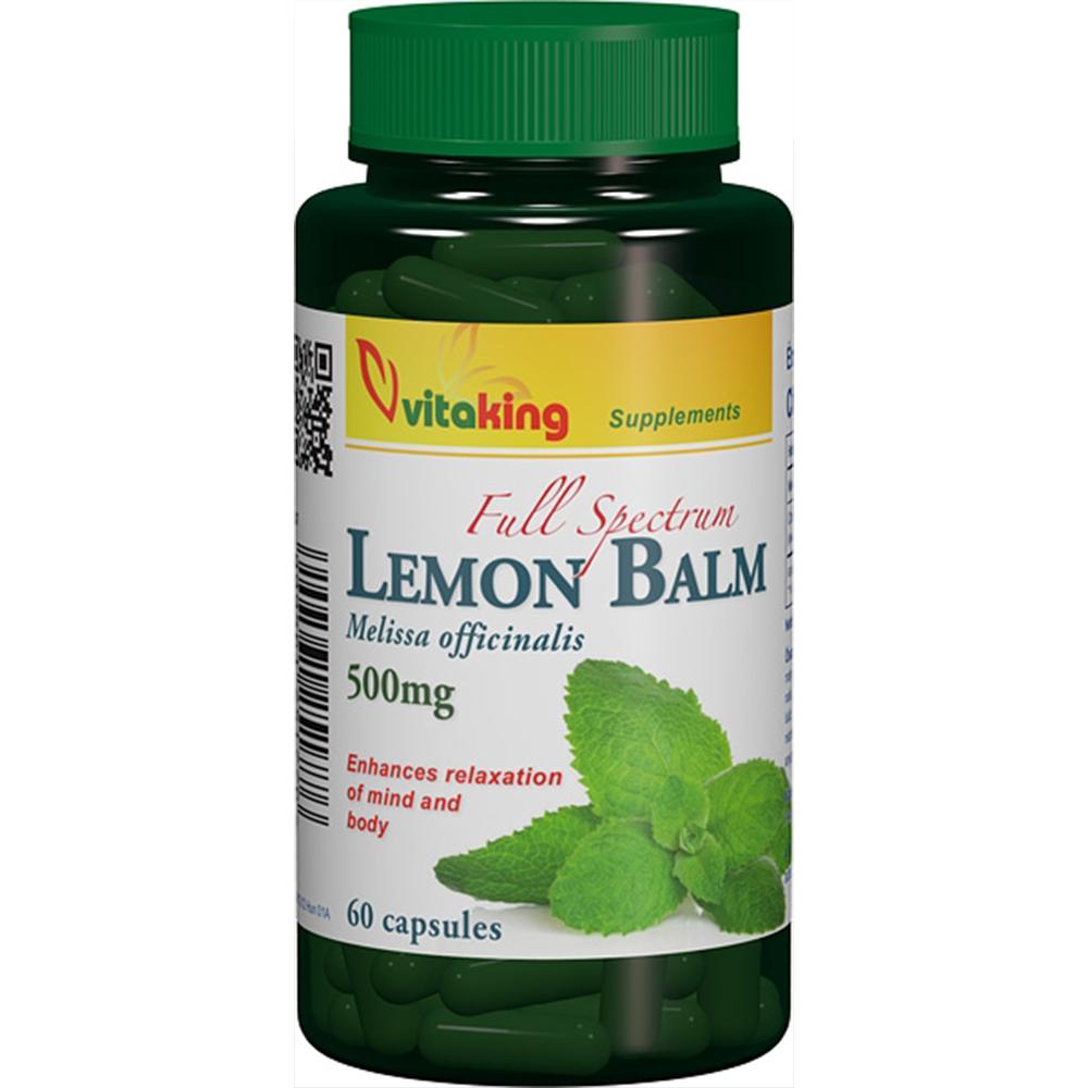 VitaKing Lemon Balm 60 caps